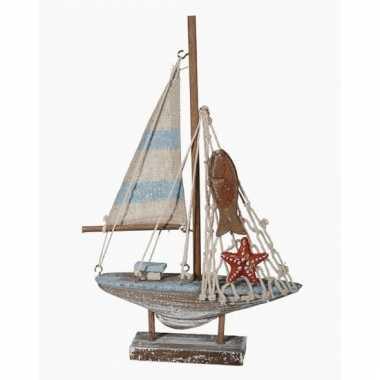 Model zeilboot 21 cm
