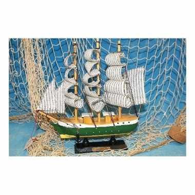 Model zeilboot humboldt 24 cm