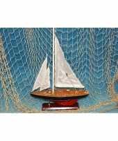 Model zeilboot 37 cm
